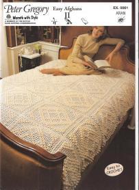 EX0061 Aran Sing/Dbl Bed